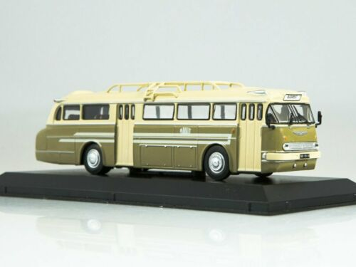 IKARUS 66 1955 Beige Scale model bus 1:72 Green