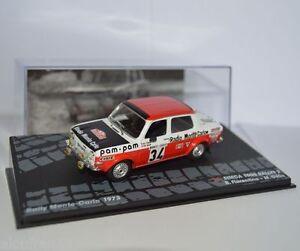 RALLY-IXO-DIECAST-1-43-Simca-1000-Rallye-2-Fiorentino-Gelin-1973-RAL095