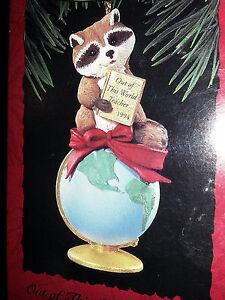 Brand New Vintage Hallmark Ornament in Original Box. 1994 Coach
