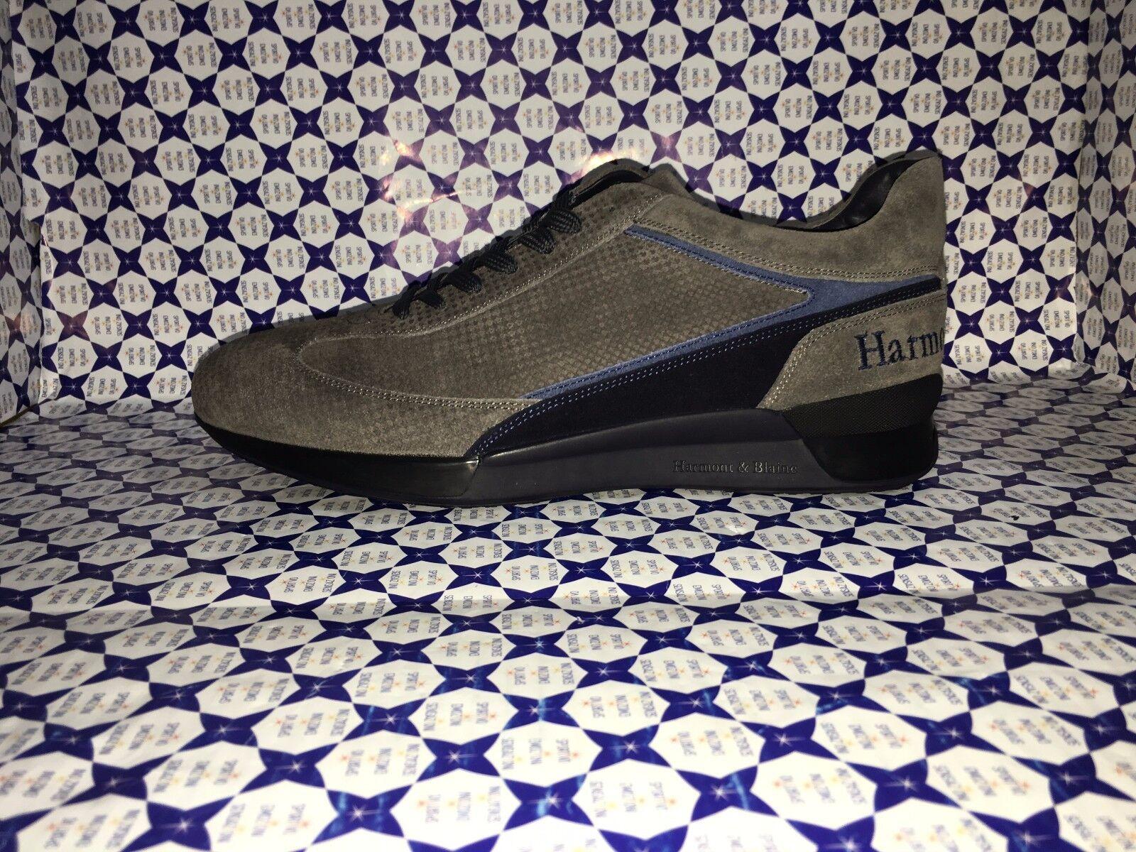Scarpe HARMONT & BLAINE Uomo - Scarpe da Ginnastica Camoscio E9063 Piedipull - Tortora - E9063 Camoscio 2d561e