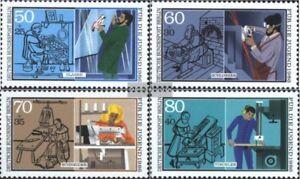 Berlin-West-754-757-kompl-Ausgabe-gestempelt-1986-Handwerk