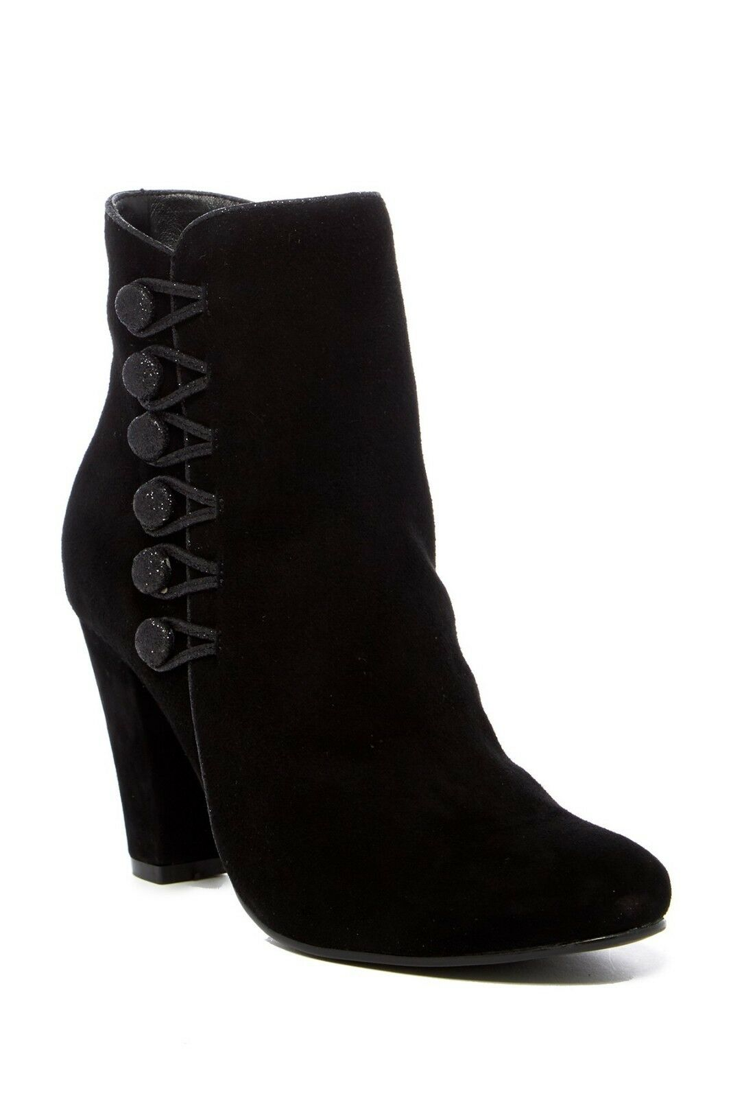 New Catherine Malandrino femmes Pepper Suede Button Heel Boho démarrageies bottes 7