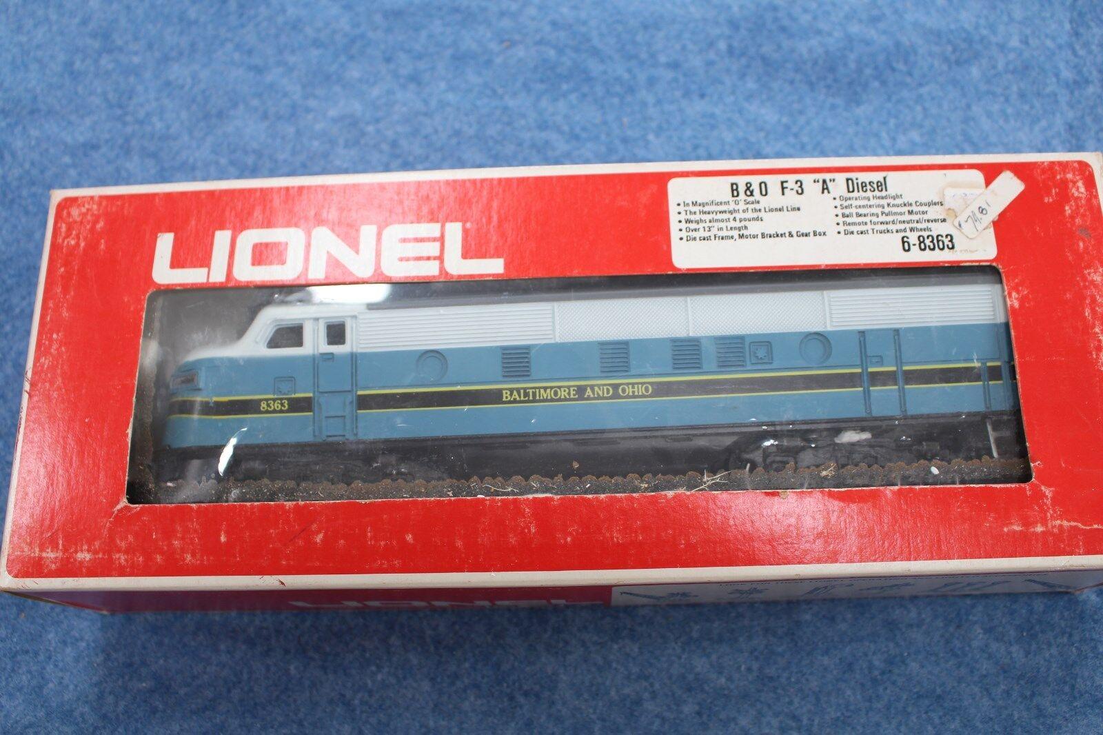 1973 Lionel 6-8363 B&O Baltimore & Ohio F3A Powerosso Diesel Engine L2615