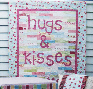 Hugs-amp-Kisses-pieced-amp-applique-quilts-pillowcase-and-tent-PATTERN