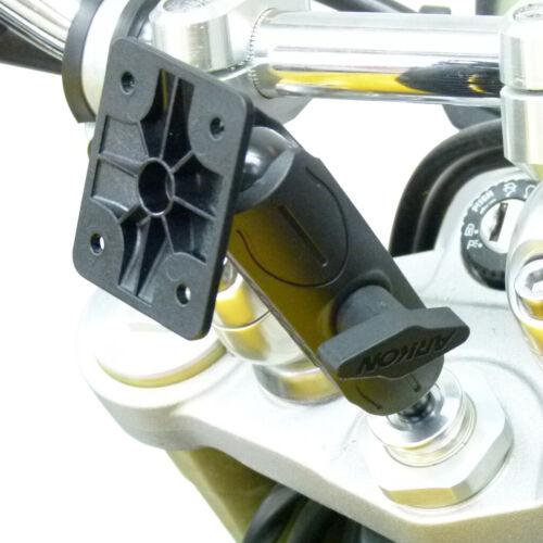 15-17mm BuyBits Original Extended Motorcycle Fork Stem Mount for Garmin Zumo