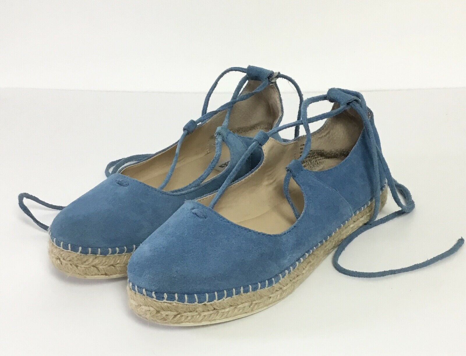 Steve Madden Espadrille Strappy Lace Up Sandals Size 9B