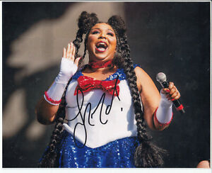 Lizzo-Singer-Signed-Autograph-8-034-x10-034-Photo
