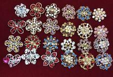 Wholesale Job Lots 12 Brooch, Hijab, Scarf, Abaya Crystal Pins 12 Pc £4.99
