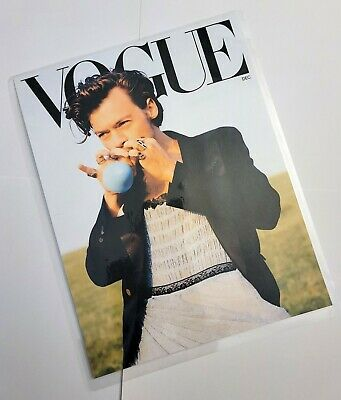 4x6 Harry Styles Vogue Watercolor Print