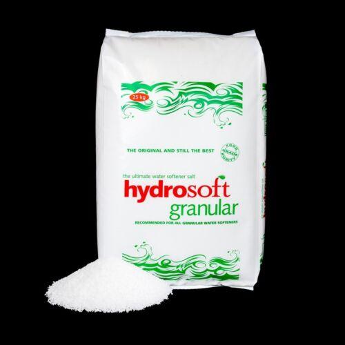 Free delivery within 20 miles of BA13 HYDROSOFT GRANULAR SALT 25KG