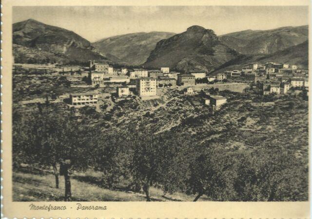 Montefranco -Panorama - Perugia - Cartolina viaggiata anni 40