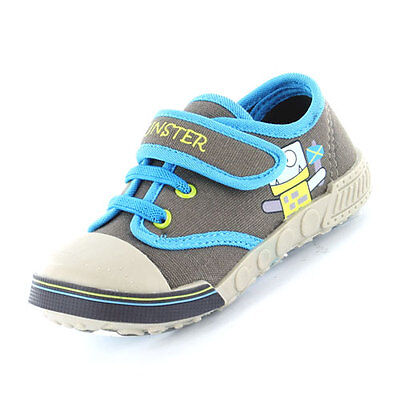 BOYS CORNWALL CANVAS SIZE 5 INFANT BABY TODDLER KIDS SHOES TRAINERS Eur 22