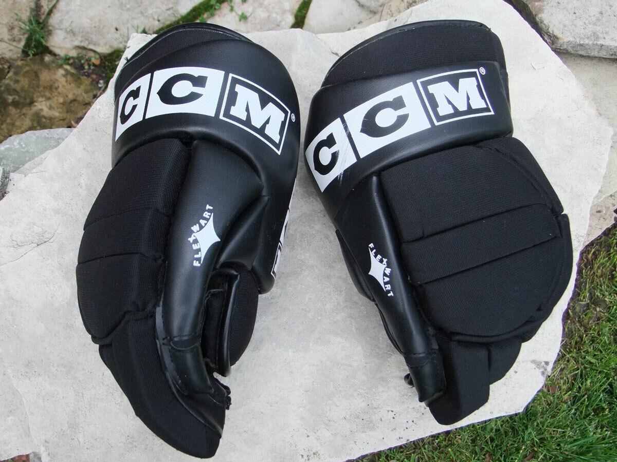 CCM HG 120 13 Pulgadas 33CM Hockey Guantes, gran condición, AAD 140 Negro