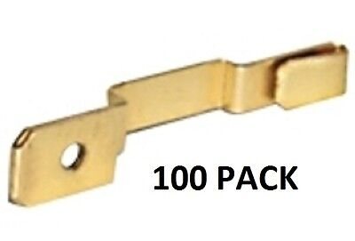 "ATC FUSE TAP ADAPTERS .250/"" MALE SPADE FUSE LEG CLIP-ON #FT3-100PK 100 PACK"