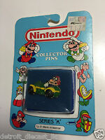 Vintage Nintendo Series A Number 8 Mario In A Race Car Collector Pin D0400 A