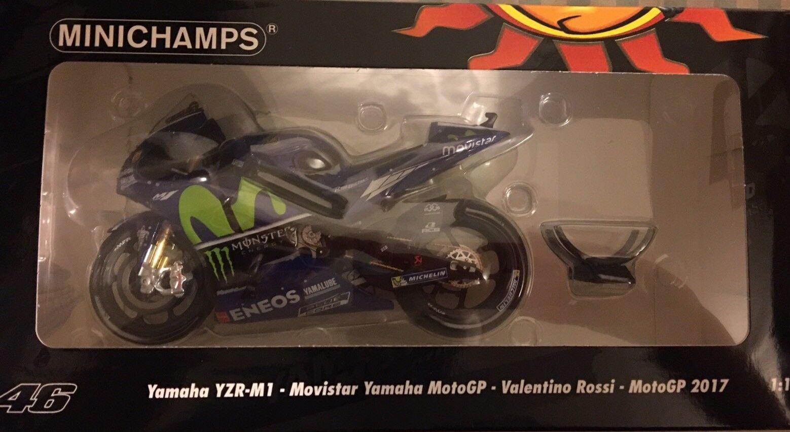 1 12 Minichamps Yamaha YZR M1  Rossi Bike 2017