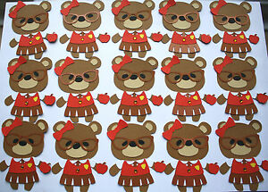28 GOOD LUCK IN YOUR NEW CLASSYEAR  24 plus 4 free 28 TEDDY BEAR TOPPERS 010 - <span itemprop='availableAtOrFrom'>Stoke on Trent, Staffordshire, United Kingdom</span> - 28 GOOD LUCK IN YOUR NEW CLASSYEAR  24 plus 4 free 28 TEDDY BEAR TOPPERS 010 - Stoke on Trent, Staffordshire, United Kingdom