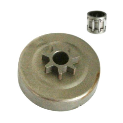 "325/"" 7T Clutch Cover Drum Chain Sprocket Rim Fit STIHL 023 MS230 MS250"