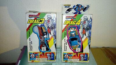 Aspirante Vintage Transformers Ko Bootleg Strategic Plan Drag 3 Drag 4 Mib Pulizia Della Cavità Orale.