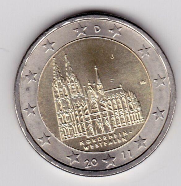 Alerte 2 Euros 2011 Allemagne Commémorative Neuve Atelier J