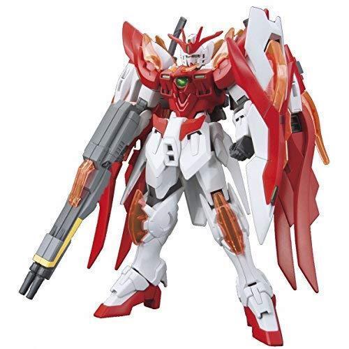 Bandai Hobby HGBF Wing Gundam Zero Flame (Honoo) Gundam Build Fighters Model Kit