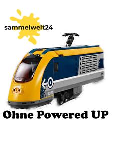 LEGO® City blau//gelbe Eisenbahn aus 60197 nur Lok ohne Powered UP