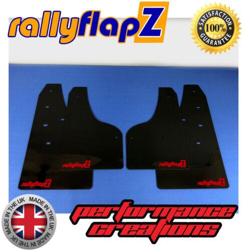 Mudflaps Ford Focus ST250 Pre /& Facelift MUD FLAPS Negro 4 mm PVC rojo con el logotipo de RF