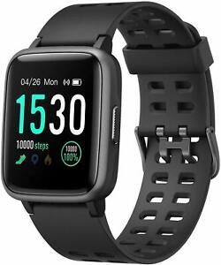 Morefit-SMART-WATCH-Fitness-Attivita-Sonno-Battito-cardiaco-monitor-a-colori-monitor-APP