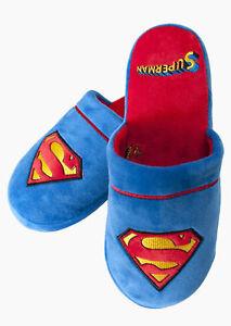DC-Comics-Superman-Mules-Pantoufles
