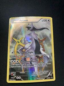 FULL ART Arceus ULTRA RARE Pokemon Black Star Promo XY83