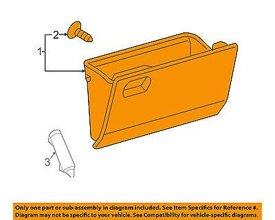 Toyota Genuine 55550-52170-B0 Glove Box Door Assembly