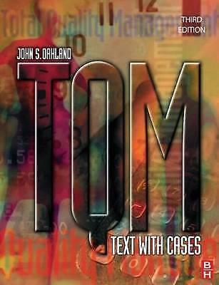 TQM: Text with Cases, Third Edition (TQM: Text with Cases)-ExLibrary