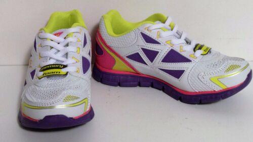 New Girls Everlast Dash Running Shoes Style 55501 White//Purple 72J hr