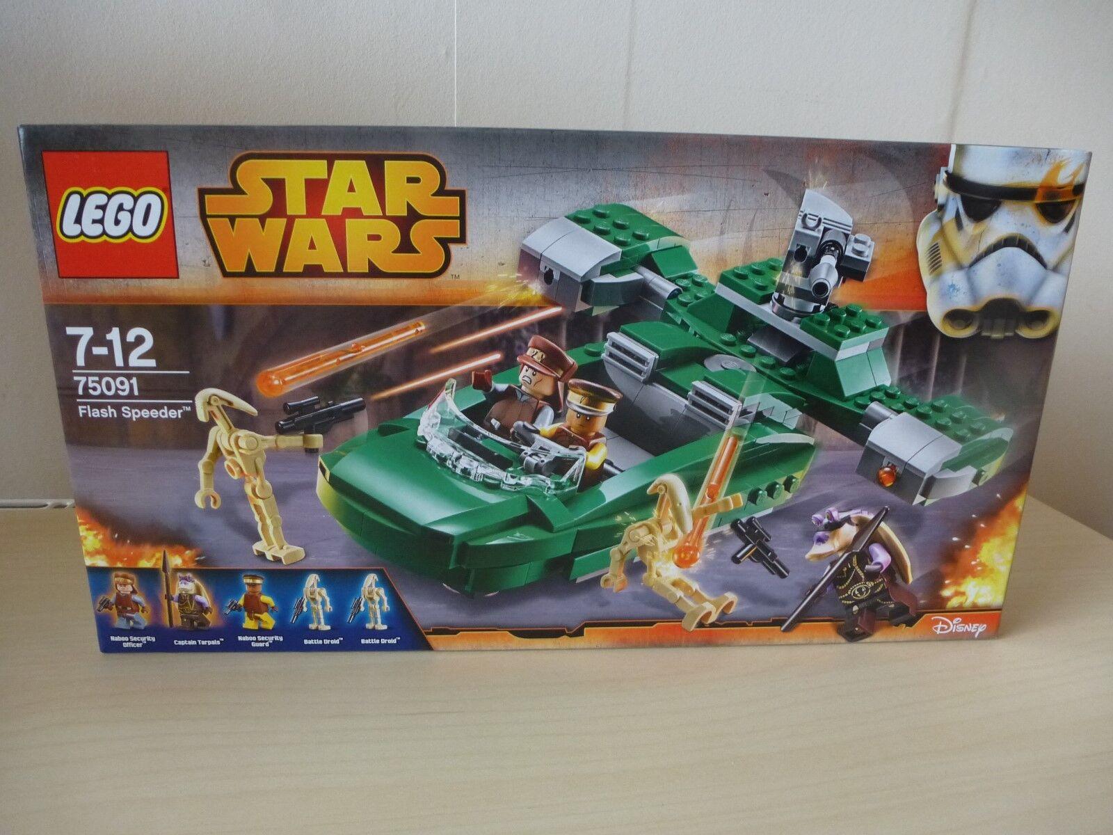 Lego Star Wars - 75091 - Flash Speeder - New Sealed