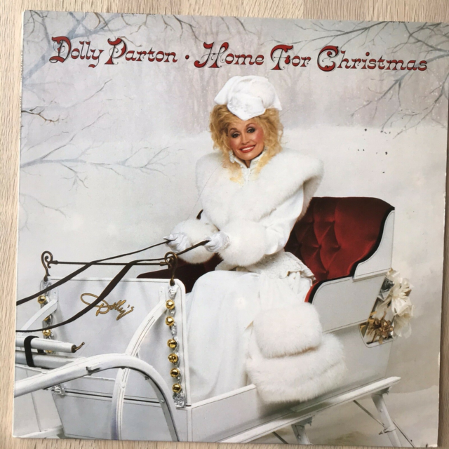 LP, Dolly Parton, Home For Christmas, Country, Hollands…