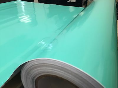 Gloss Teal Mint Green Turquoise Vinyl Car Wrap Auto Film Sticker Decal Roll