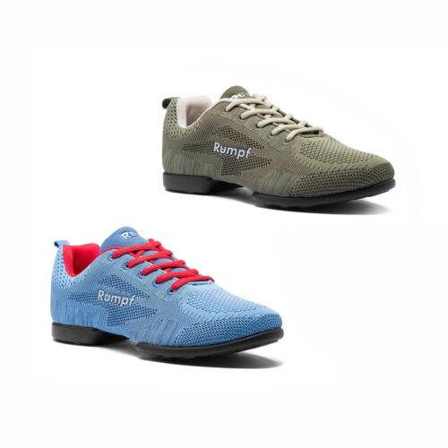 Rumpf ZUMA 1567-S Tanz Lindy Hop Swing Trainings Sneaker Disco Fox atmungsaktiv
