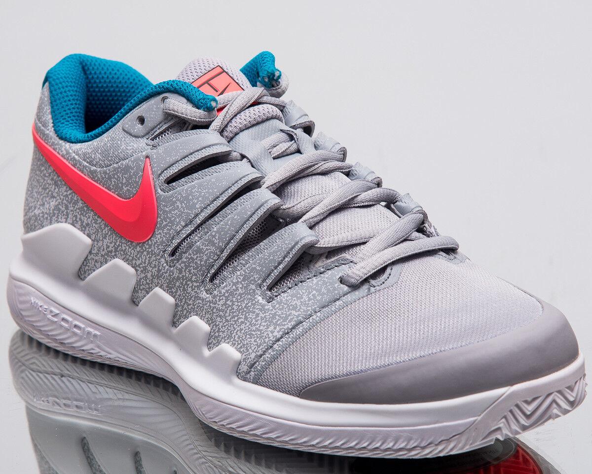 Nike Wmns Air Zoom Vapor X Clay Femme Wolf  Gris  Hot Lava blanc Tennis AA8025-064