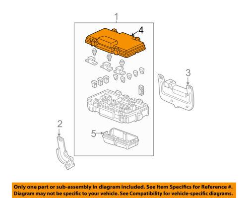 HONDA OEM 05-06 CR-V Electrical-Fuse Relay Box Upper Cover 38251S9AA02