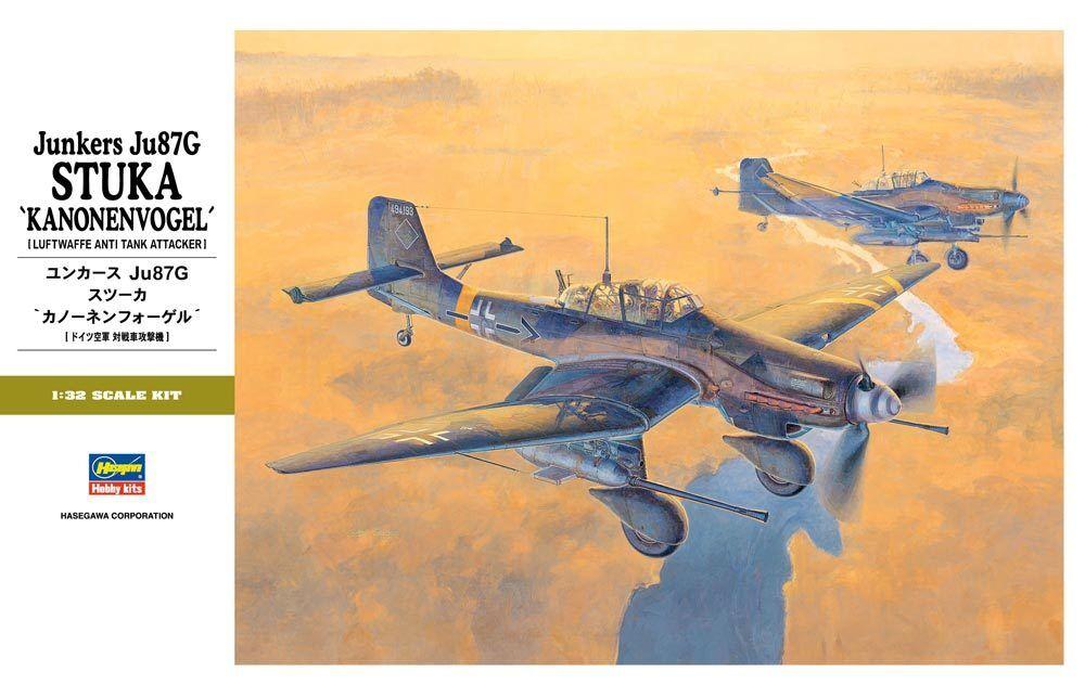1  32 Hasegawa Ju 87G Stuka Kannonnvogel