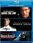 Above The Law/under Siege/under 2 0883929229970 Blu-ray Region a