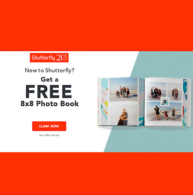 Shutterfly Coupon For 8x8 Photo Book Exp 10 30 20 Ebay