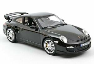 PORSCHE 911 GT2 - 2010 - black - Norev 1:18