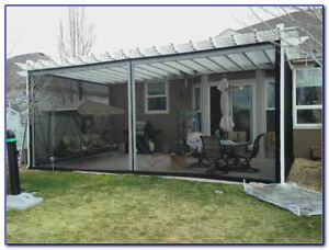 Mosquito Net Netting Screen Awning Canopy Patio Enclosure ...