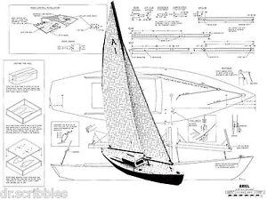 Details about MODEL BOAT PLANS 37