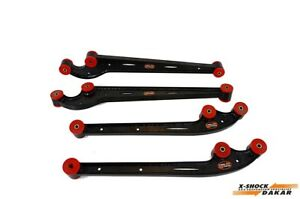 Suzuki-Jimny-OFF-ROAD-Schwingarm-SET-castor-corrected-mit-bushes