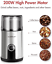 thumbnail 4 - Aigostar Electric Coffee Grinder Stainless Steel Bowl Spice Mill Beans Blender