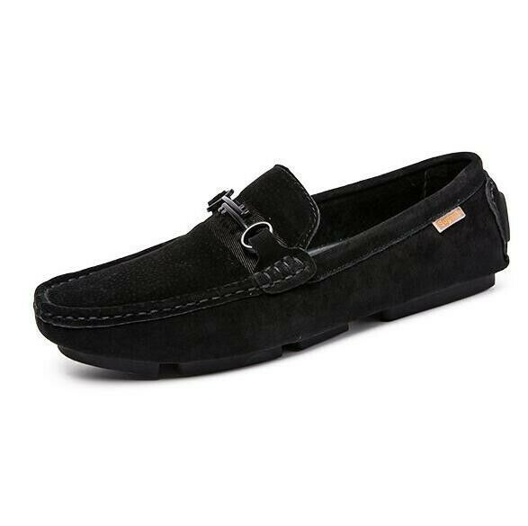 Men Casual British Breathable Driving Moccasins Slip On Loafers Flats Comfort sz