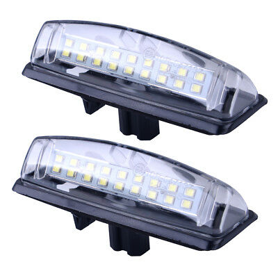 For Toyota Camry Pruis Lexus ES RX GS 18LED License Number Plate Light Lamp 2PCS