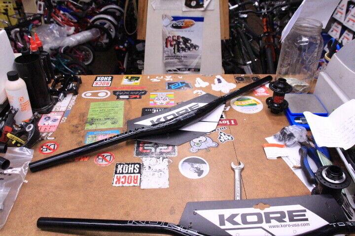 Kore OCD M35 20mm Rise 800mm Wide Mountain Bike Handlebar AL-7050 Triple Butted